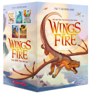Wings of Fire Boxset, Books 1-5 (Wings of Fire) image
