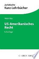 US-amerikanisches Recht : ein Studienbuch