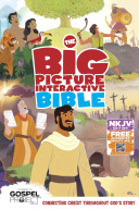 The NKJV Big Picture Interactive Bible  Hardcover Book