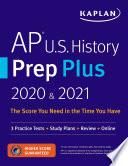 AP U S  History Prep Plus 2020   2021