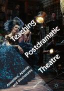 Teaching Postdramatic Theatre [Pdf/ePub] eBook