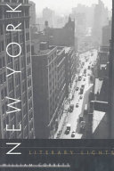 New York Literary Lights Book