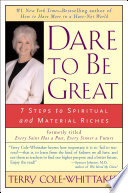 Dare to Be Great  Book PDF