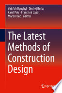 The Latest Methods of Construction Design Book