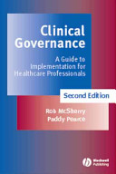 Cover of Clinical Governance