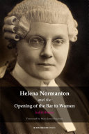 Helena Normanton and the Opening of the Bar to Women [Pdf/ePub] eBook