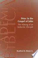 Peter in the Gospel of John Book