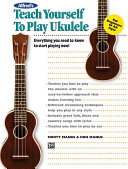Alfred's Teach Yourself to Play Ukulele ebook