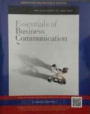 Essentials of Business Communication  9th Ed Book