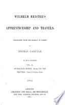 Goethe s Wilhelm Meister s apprenticeship