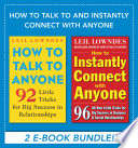 How to Talk and Instantly Connect with Anyone  EBOOK BUNDLE