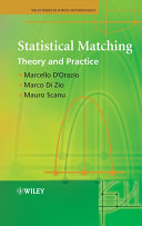 Statistical Matching