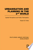 Urbanisation and Planning in the 3rd World