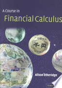 A Course in Financial Calculus Book