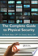 The Complete Guide to Physical Security Book