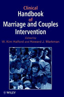 Clinical Handbook of Marriage and Couples Interventions Book