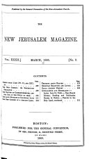 The New Jerusalem Magazine