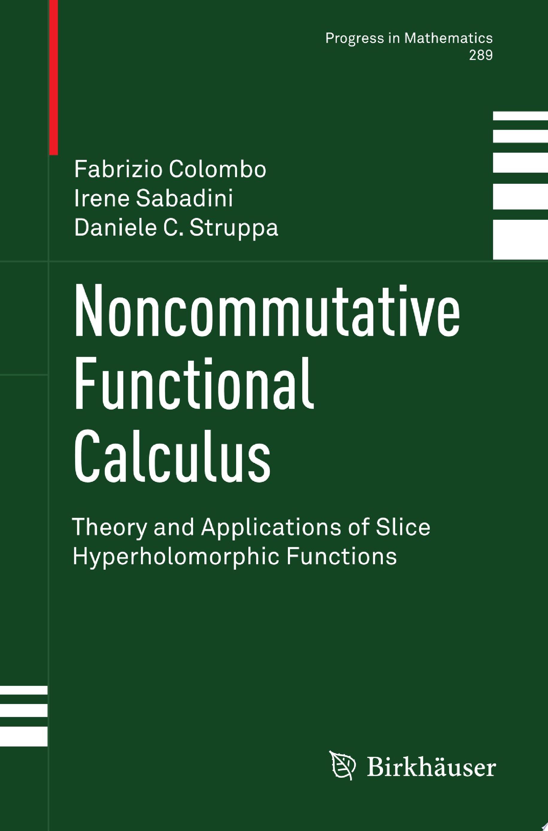 Noncommutative Functional Calculus