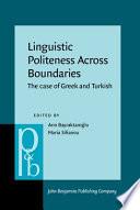Linguistic Politeness Across Boundaries