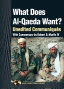 What Does Al-Qaeda Want?