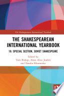 The Shakespearean International Yearbook 18