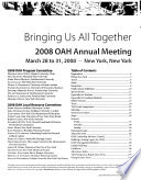 OAH Annual Meeting