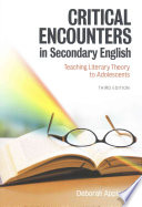Critical Encounters in Secondary English
