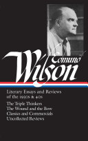 Literary Essays and Reviews of the 1930s   40s