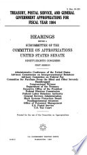 District of Columbia Appropriations for Fiscal Year 1984