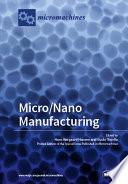Micro Nano Manufacturing Book PDF