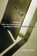 Pdf Rethinking Public Key Infrastructures and Digital Certificates