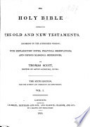 The Holy Bible ... with Explanatory Notes, Practical Observations, and Copious Marginal References, by Thomas Scott. The Sixth Edition, with the Author's Last Corrections, Etc Pdf/ePub eBook