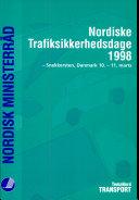 Nordiske trafiksikkerhedsdage 1998