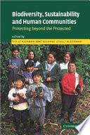 Biodiversity, Sustainability and Human Communities