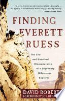 Finding Everett Ruess Book PDF