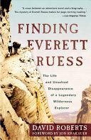 Finding Everett Ruess Pdf/ePub eBook