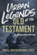 Urban Legends of the Old Testament Pdf/ePub eBook