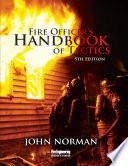 Fire Officer S Handbook Of Tactics 5th Edition