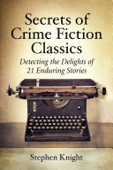 Pdf Secrets of Crime Fiction Classics Telecharger