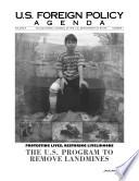 Protecting Lives, Restoring Livelihoods: The U.S. Program To Remove Landmines