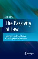 The Passivity of Law Pdf/ePub eBook