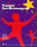A Practical Guide For Teaching Self Determination