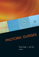 Photonic Glasses