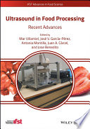 Ultrasound in Food Processing Book