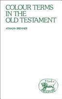 Colour Terms in the Old Testament Book