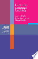 Games for Language Learning by Andrew Wright,David Betteridge,Michael Buckby PDF