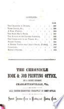 The Virginia Spectator Book