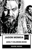 Jason Momoa Adult Coloring Book