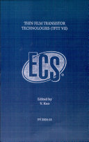 Thin Film Transistor Technologies  TFTT VII