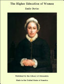The Higher Education of Women [Pdf/ePub] eBook